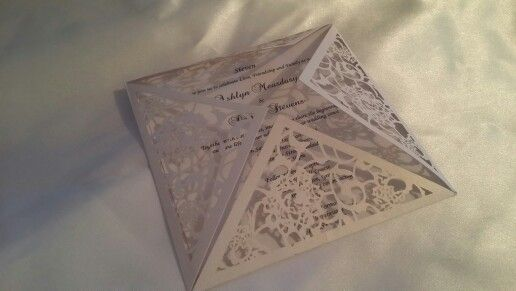 IinviteU laser cut white Starting from $6.00