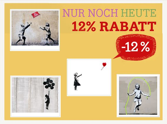 167 best banksy streetart leinwand und poster drucke. Black Bedroom Furniture Sets. Home Design Ideas