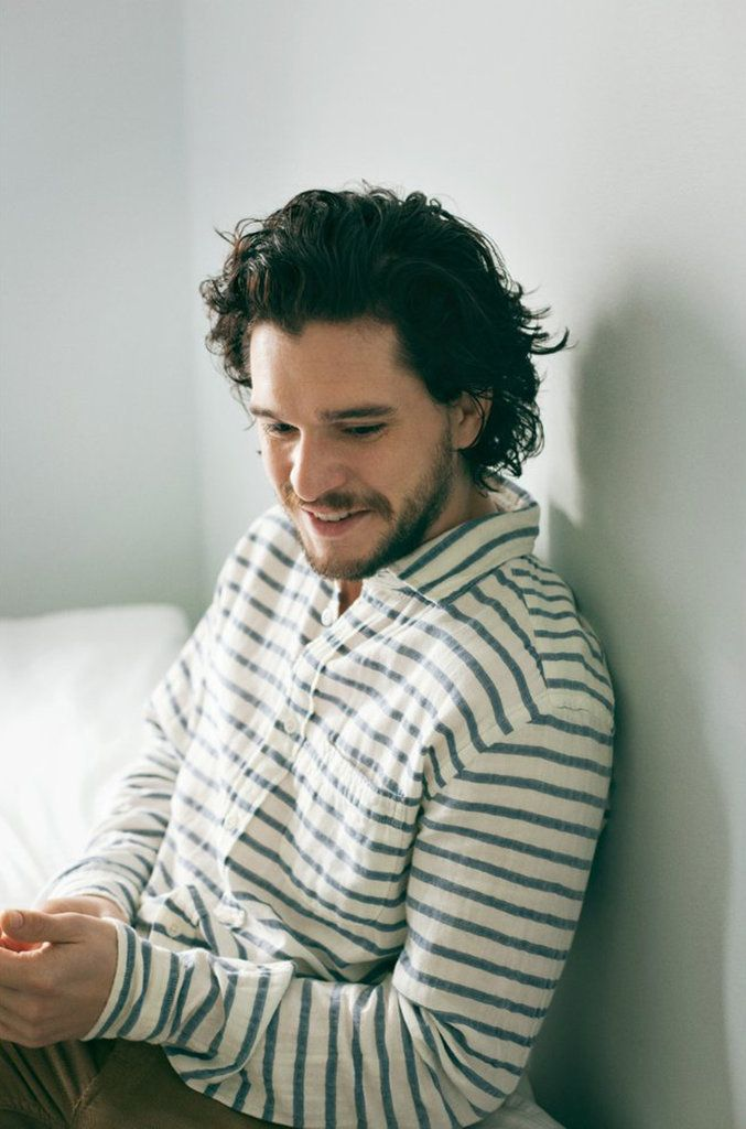 Game of Thrones star Kit Harington looks awfully handsome in this MR PORTER photo shoot! See what he had to say about fame, gratitude, and his role as Jon Snow.