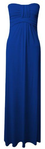 Womens Long Jersey Dress Ladies Knot Front Strapless Boobtube Maxi Dress UK 8-14 (S/M(UK 8/10), Royal) - http://www.cheaptohome.co.uk/womens-long-jersey-dress-ladies-knot-front-strapless-boobtube-maxi-dress-uk-8-14-smuk-810-royal/?utm_source=PN&utm_medium=Manasak&utm_campaign=SNAP%2Bfrom%2BBestseller  Womens Long Jersey Dress Ladies Knot Front Strapless Boobtube Maxi Dress UK 8-14 (S/M(UK 8/10), Royal) Short Description This light weight maxi dress is crafted in a soft stret