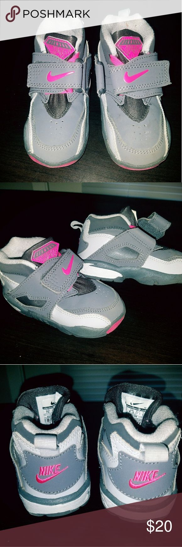 Toddler Diamond Nike Turfs Excellent used condition. My daughter grew out of them way too fast! Loved these shoes.. Nike Shoes Sneakers