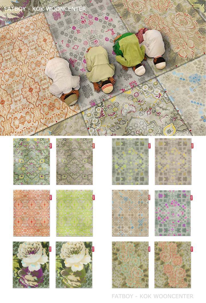 Fatboy Non flying karpet kleuren