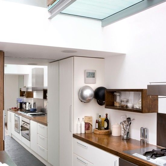 White kitchen | Take a tour around a modern bachelor pad | housetohome.co.uk