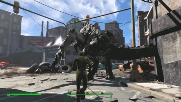 One-Punch Man's Hero Stays True To Himself In Fallout 4