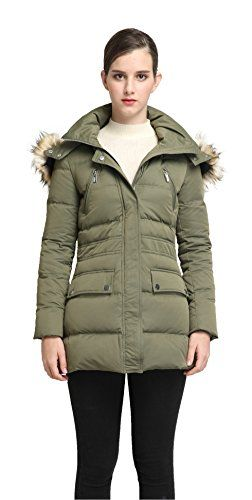 690308e9b Orolay Womens Thickened Down Jacket Winter Coat Armygreen L * You ...