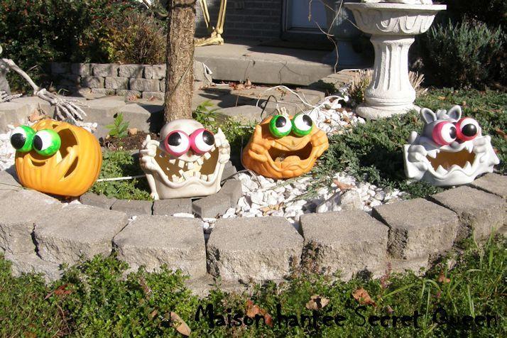 ... halloween effrayantes, Diy halloween et Décorations dhalloween à