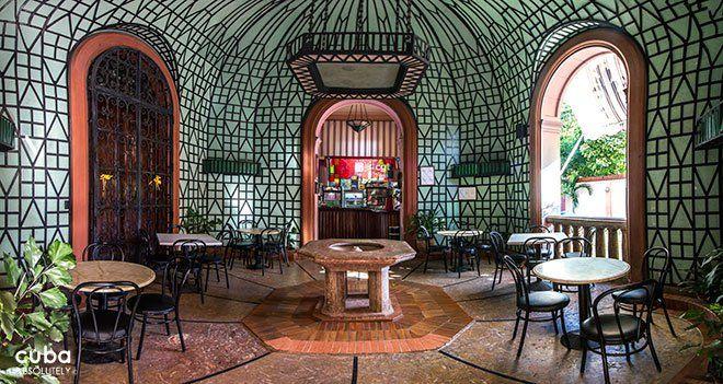 Creative Details. Garden Room at Casa de la Amistad, Cuba.