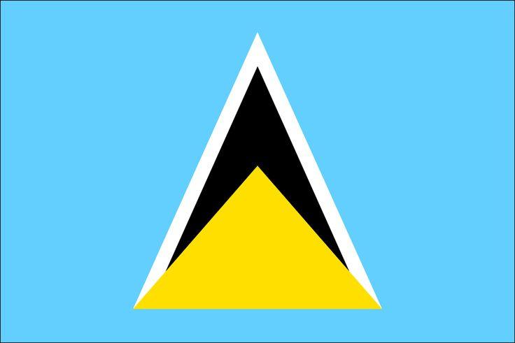 saint lucia weather | Flag of Saint Lucia | Saint Lucia | Saint Lucia Flag