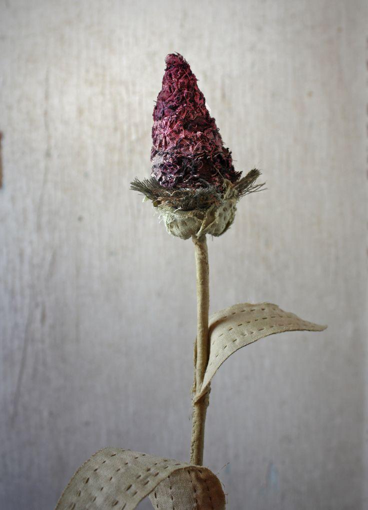 stitched botanical