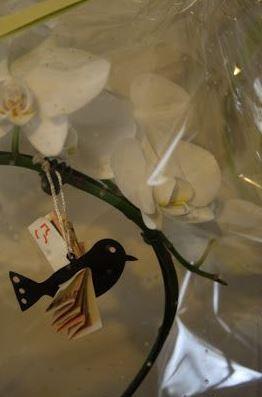 geld in een orchidee huwelijk #geldgeschenk www.cadeaumandje.be