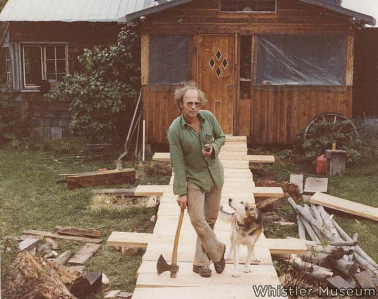 "Tokum - Run named for the building; Tokum Corners. An #oldschool #skibum building lived in by locals John Hetherington, George Benjamin (pictured) and many others. But where did ""Tokum"" come from?"