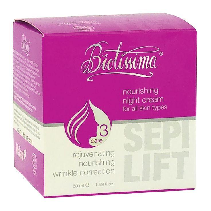 Descoperă efectul noii formule a cremei nutritive de noapte Biotissima