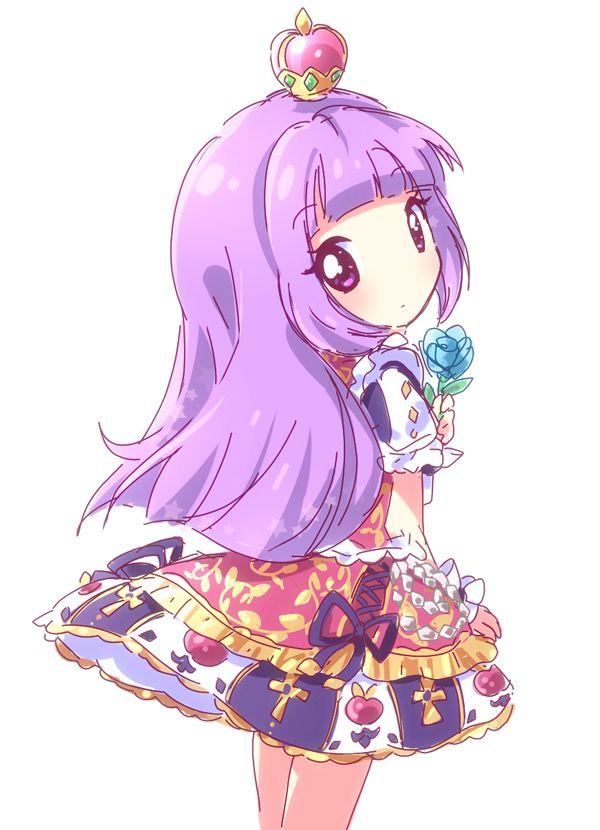 Hikami sumire in snow princess coord chibi version - Manga princesse ...