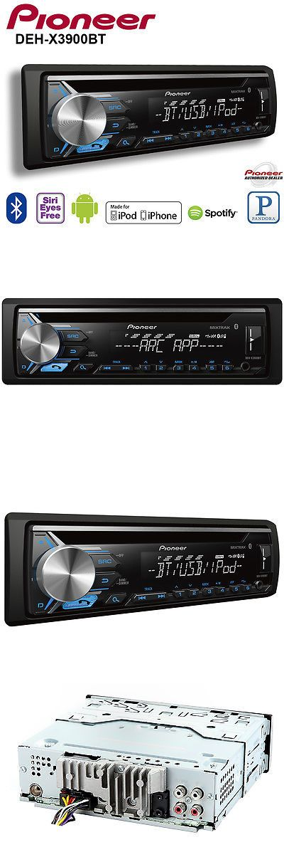 Car Audio In-Dash Units: Pioneer Car Radio Stereo Cd Player Pandora Android Iphone Mixtrax Usb Aux -> BUY IT NOW ONLY: $95 on eBay!