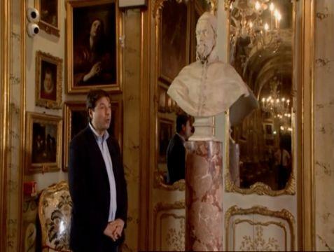 Palazzo Doria Pamphilj, Roma – Doria Pamphilj statua di Bernini e quadro di Innocenzo X stupendi!!!!!