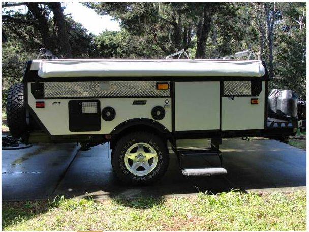 Fleetwood Coleman Evolution Pop Up Trailer Jeep Camping