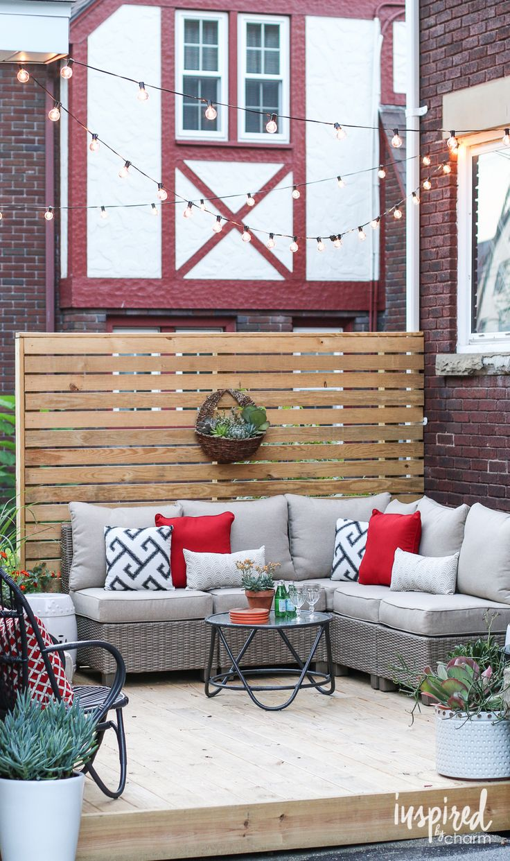 Louisiana cypress swings amp things inc - I Love Treating My Outdoors Space As An Extension Of My Home Whenever I M