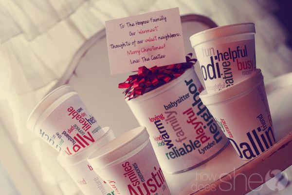 cute holiday gift idea: Christmas Gift Ideas, Chocolates Mugs, Cheap Christmas Gifts, Diy'S Hot, Hot Chocolate Gifts, Christmas Gifts Idea, Neighbor Gifts, Hot Cocoa, Hot Chocolates Gifts