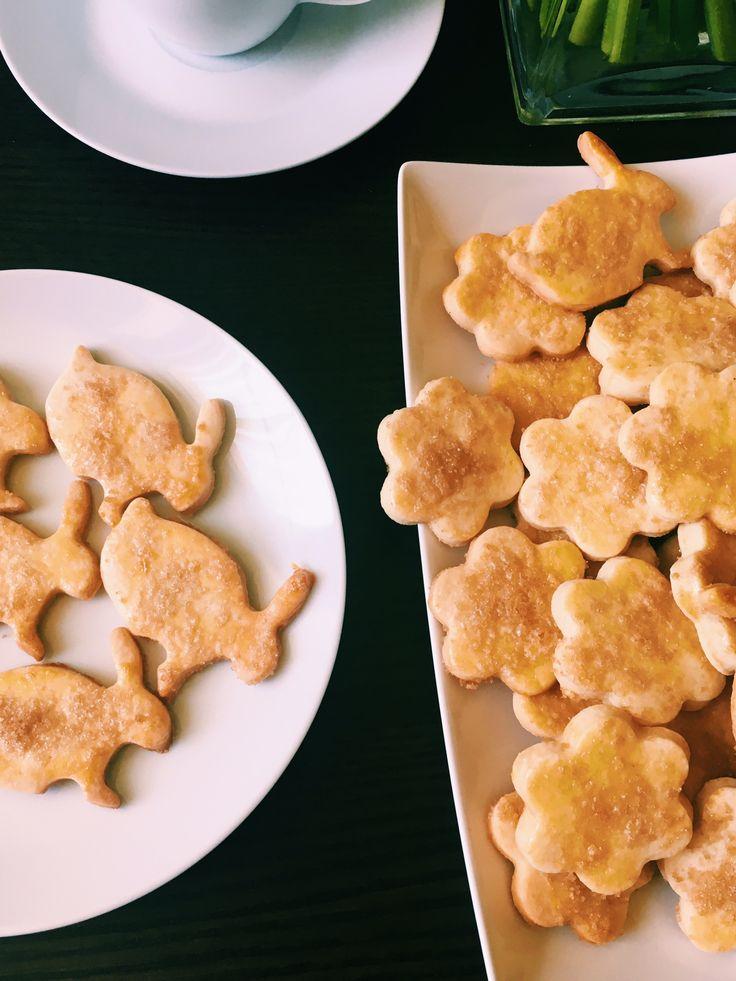 Kruche ciasteczka imbirowe
