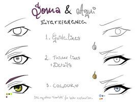 How to draw soma and agni eyes
