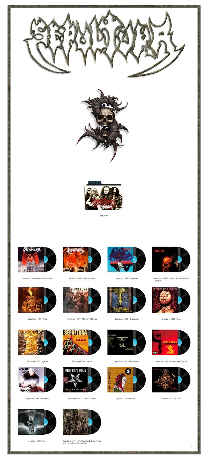405 best sepultura images on pinterest brazil metal bands and album art icons sepultura thecheapjerseys Choice Image