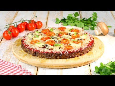 Può sembrare una pizza ma non lo è… questo è un tortino di carne e formaggio. Per i più golosi.