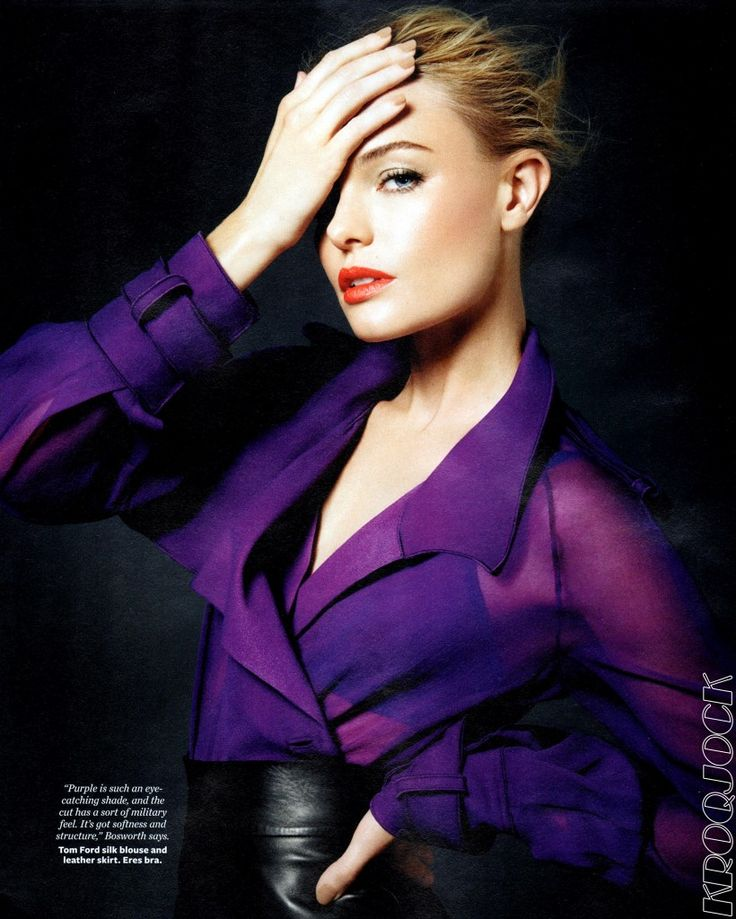 Kate Bosworth. Tom Ford's Fall 2011 women's collection