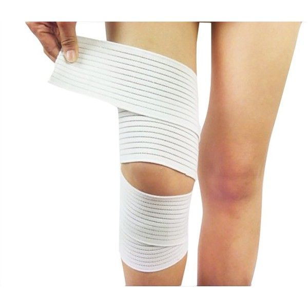 Amazon.com: Dazcos Elasticity Thigh Knee Bandage Sport Pads Boruto... ($9.95) ❤ liked on Polyvore featuring costumes, sport costumes, white costumes, sports costumes, cosplay halloween costumes and cosplay costumes