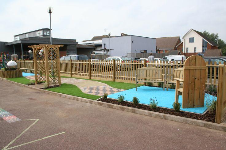 Broughton Fields Primary School Values Garden