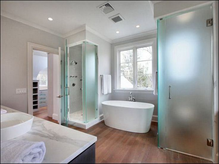 I Like The Frosted Glass For Shower And Wc Creative Design Master Bathroom Layout Home Of Our
