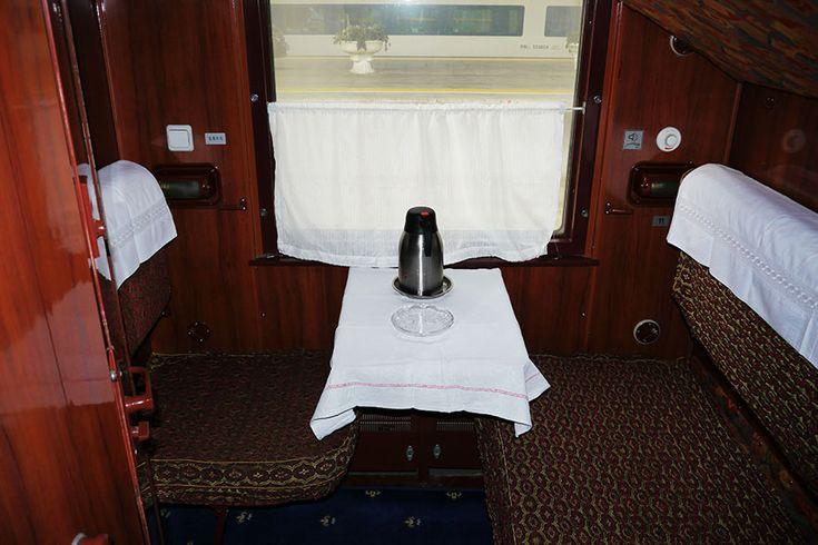 【シベリア鉄道】北京から出発する2人用個室は洗面所つきです / モスクワまで快適な旅?
