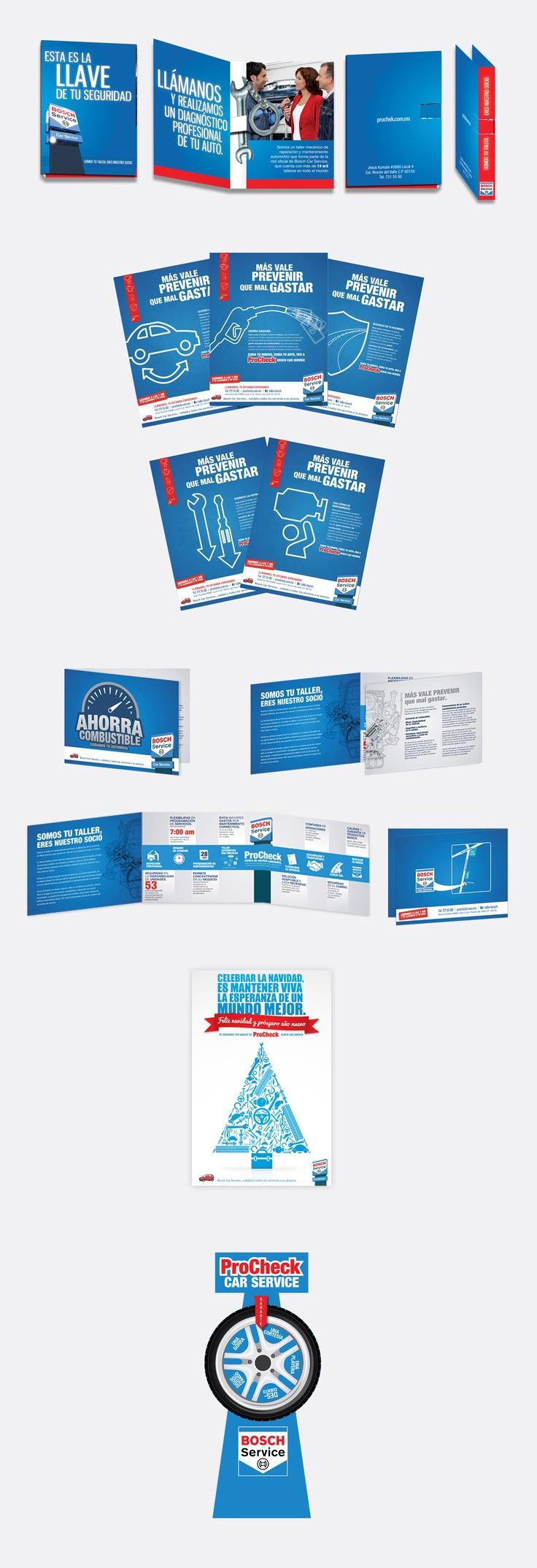 Material de venta, campaña de comunicación.
