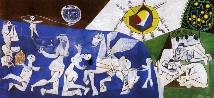la Paix, Picasso, 1952