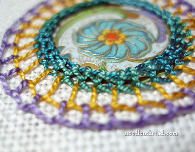 Mary Corbet... master of embroidery... love it: Idea