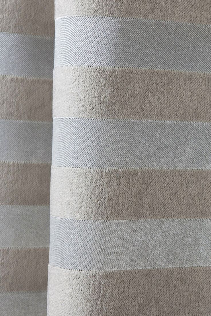 Best Home Fashion Inc. - Satin Stripe Grommet Blackout Window Curtain Pair - Set of 2 Panels - Beige is now 44% off. Free Shipping on orders over $100.