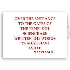 ~Max Planck