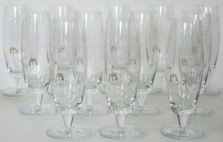 New Pilsner Urquell Set Of 12 Rastal 0,4l 400ml Stemmed Beer Glasses Goblets