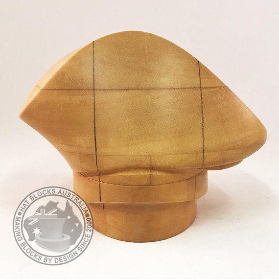 Lauren Hand Made Vintage Reproduction Puzzle Hat Block By Hat Blocks Australia Millinery Hat Making Hat Mould Hat Blocks Hat Making Lauren Hat