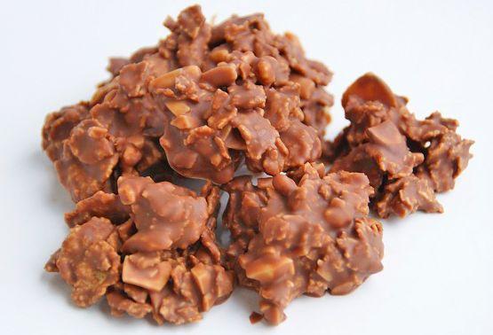 Schokoladen Crossies sind sehr köstlich und machen süchtig.