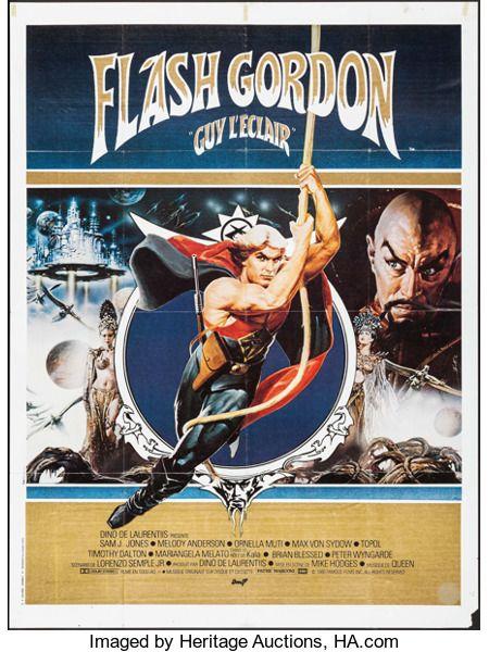 "Movie Posters:Science Fiction, Flash Gordon (AMLF, 1980). French Grande (47"" X 63..."