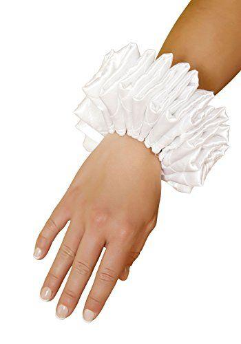 Ruffled Wrist Cuffs (White;One Size) Roma Costume http://www.amazon.com/dp/B00D5W18ZG/ref=cm_sw_r_pi_dp_cvwmub0Z7ECJM