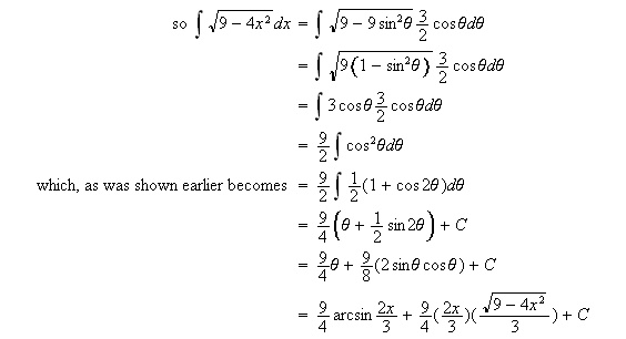 how to solve definite integrals by method of parts