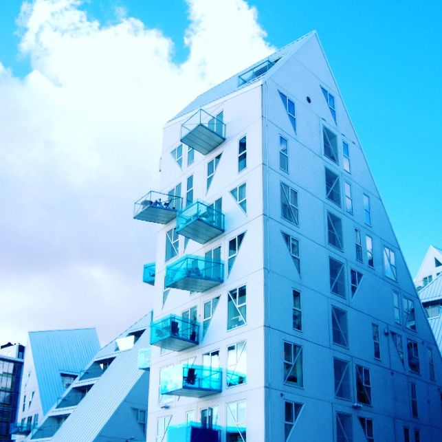 Iceberg housing project