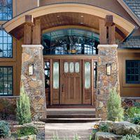Fiberglass Double Entry Doors
