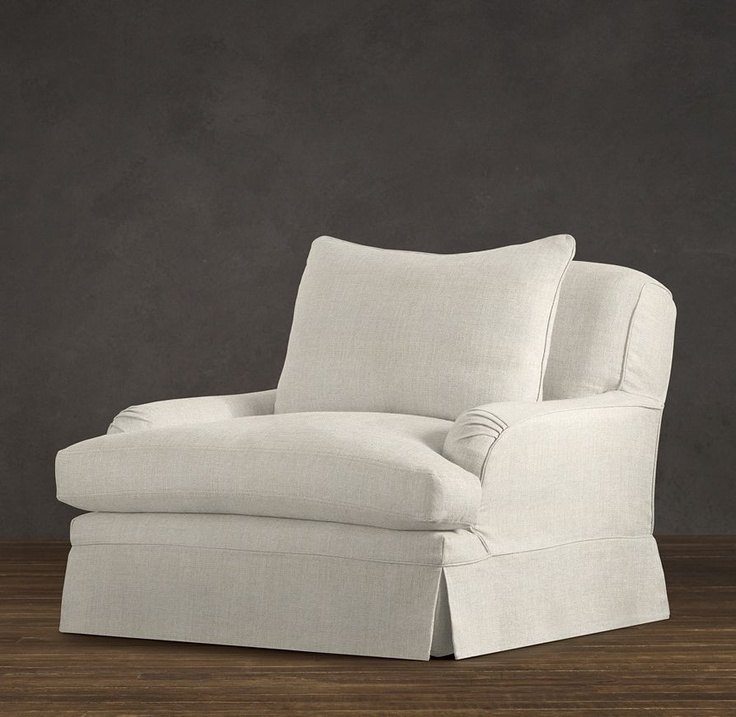 Belgian Classic Roll Arm Slipcovered Chair | Chairs | Restoration Hardware