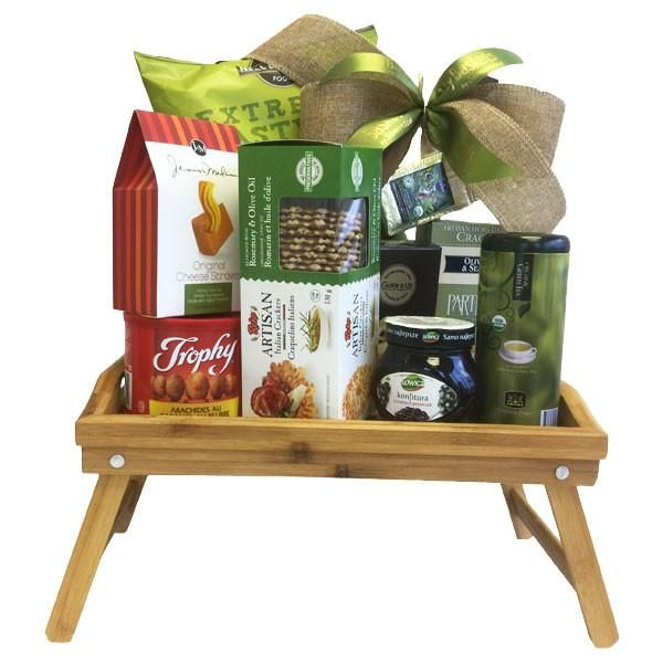 Breakfast Tray Gift Basket