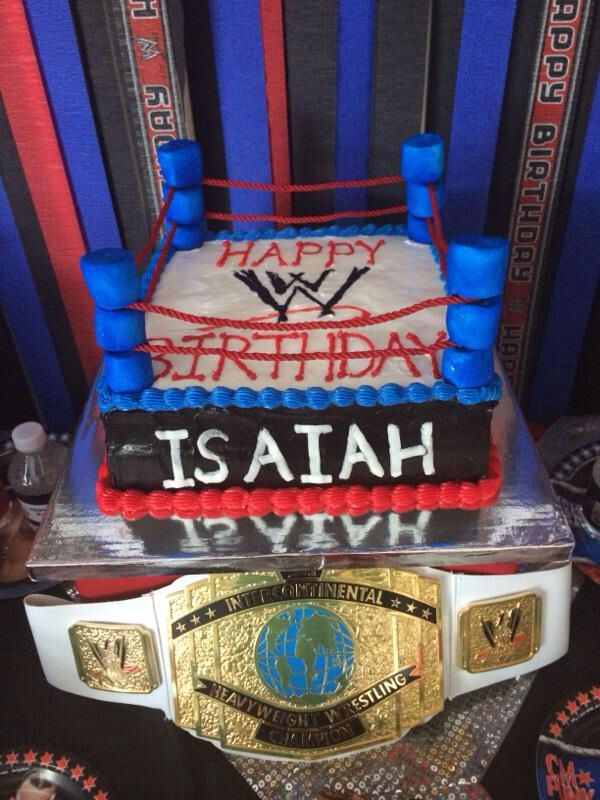 Cake And Art Santa Monica Blvd : 86 best images about wwe cakes on Pinterest Cake ideas ...
