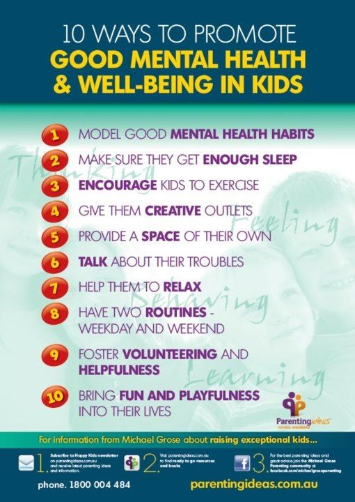 Children & youth mental health services