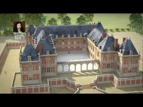 Versailles, de Louis XIII à la Révolution - fabulous 3D reconstruction of the transformation of Versailles from the time of Louis XIII to the beginning of the reign of Louis XVI. [In French, but still worth a look even if you don't understand the language!]