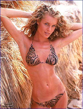 Rebecca Romijn - Sports Illustrated Swimsuit 1999 Photographed by: Antoine Verglas